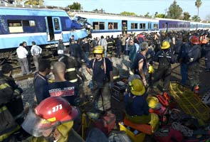 Three dead, 155 injured in Argentina train crash