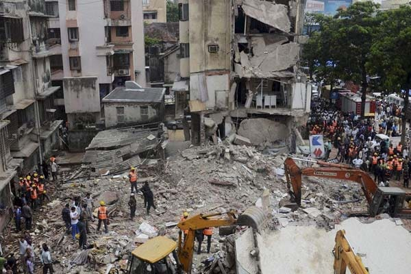 Mumbai building collapse: rescue operations called off