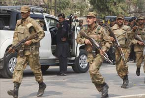 34 militants, three soldiers die in Pakistan clashes