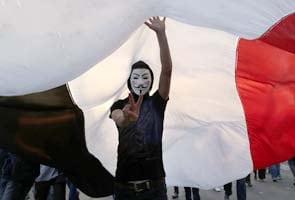 Defiant Egyptian president Mohammed Morsi says he won't step down