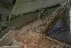 Four-storey building collapses in Delhi, one killed
