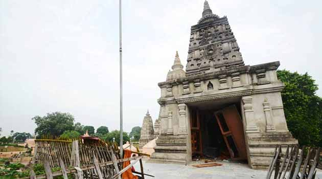 Bodhgaya: Eight blasts at the Mahabodhi temple complex; two injured