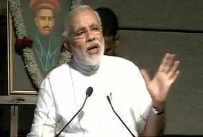 Narendra Modi slams UPA government's food security programme