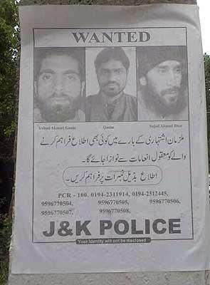 Srinagar militant attack: police identify alleged terrorists, put up posters seeking information