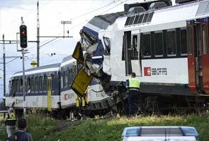Swiss train crash: Signal-jumping likely cause, say investigators
