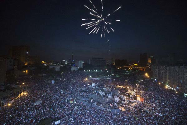 Mohamed Morsi aide says coup under way in Egypt