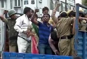 Telangana announcement: Andhra Pradesh Chief Minister Kiran Kumar Reddy leaves for Delhi