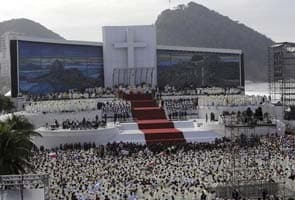 Millions at Brazil Mass hear pope ask youth to change world
