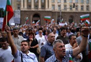 Twenty hurt in Bulgaria protests