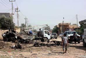 Suicide car bomb hits Iraqi security patrol, kills eight