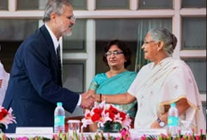 Najeeb Jung takes over as new Lieutenant Governor of Delhi
