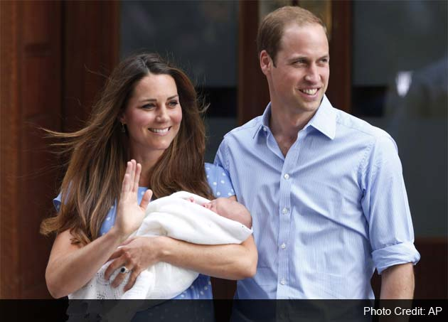 Royal baby named George Alexander Louis: palace