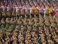 North Korea stages military parade to mark war anniversary