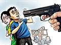 Man pulls gun at mall after spat over joyride