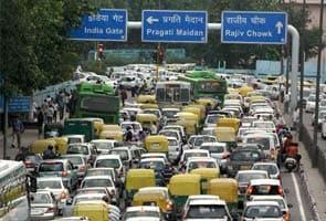Heavy rains cause traffic chaos in Delhi, more shower ...