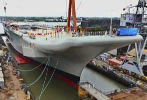 INS Vikrant, India's first indigenous aircraft carrier to be launched on Monday