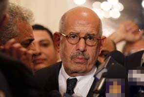 Egypt's former vice president Mohamed ElBaradei faces charges over 'breaching national trust'
