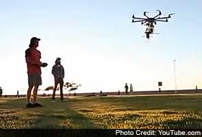 Beer not bombs delivered by drones now