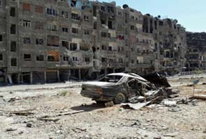 Syria's opposition claims 1300 people dead in 'chemical' bombing near Damascus