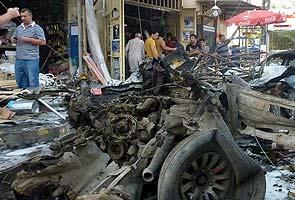 Bombs target Iraqi shoppers, killing more than 50
