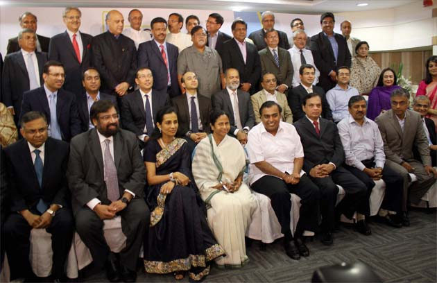 Mamata Banerjee woos India Inc in Mumbai, upbeat about investments in Bengal