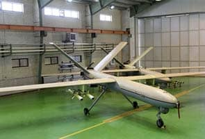 Iranian army unveils home-made combat drone