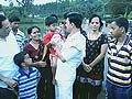 Super-mantri! Minister helps rescue family trapped in water