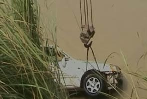Seven family members killed as car falls into canal in Meerut