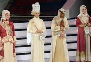 Muslim beauty pageant challenges Miss World contest