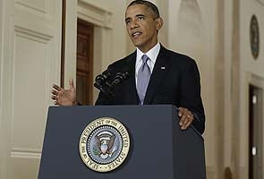 America is not the world's policeman: Text of Barack Obama's speech on Syria