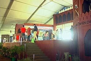 In Chhattisgarh, a Red Fort replica for Narendra Modi speech today