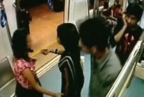 Bangalore metro sexual harassment footage