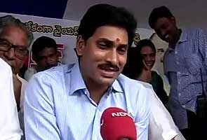 Jagan Mohan Reddy, on indefinite fast against Telangana, says Centre does not want united Andhra Pradesh