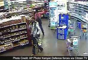 CCTV footage shows four attackers in Kenya mall