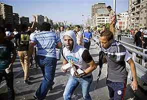 Four killed in clashes during Islamist protest in Egypt