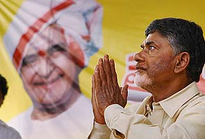 For Chandrababu Naidu's fast, it's all about location, location, location