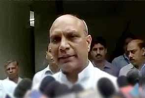 Don't act in haste, reconsider resignation: Sonia Gandhi to Pallam Raju