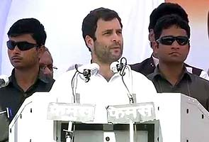 Rahul Gandhi attacked for ISI remarks about Muzaffarnagar Muslims