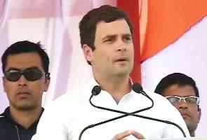 Rahul Gandhi addresses rally in Gwalior: highlights