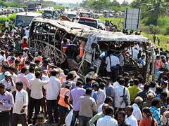Hyderabad bus fire: Driver, travel company owner arrested