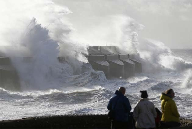 Europe battered by storm; 13 dead, thousands left without power