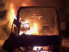 Andhra Pradesh Chief Minister orders probe into bus fire mishap