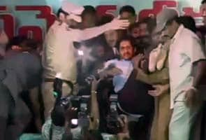 Jagan Mohan Reddy taken into preventive custody after 5-day hunger strike, force-fed