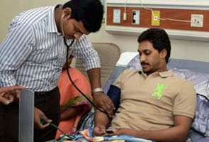 Jagan Mohan Reddy's health improves after being admitted to hospital