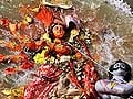 Durga puja ends with immersion of idol on Dasami