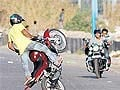 Why Mumbai cops are unable to put brakes on stunt bikers