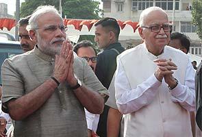 Will be elated if Narendra Modi becomes PM, says LK Advani in Gujarat