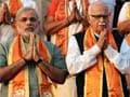 Narendra Modi and LK Advani to share dais in Ahmedabad tomorrow