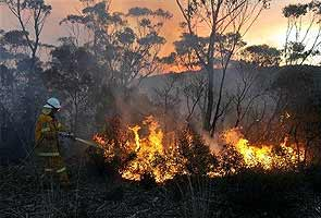 Military exercise sparked big Australian wildfire, says probe