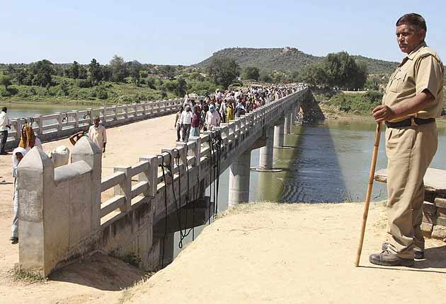 Madhya Pradesh horror: Men in uniform snatched jewelry, threw children off bridge, claim survivors